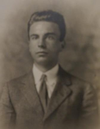 Frederick Von Hofe as a young man